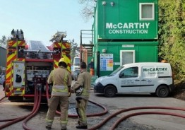 Pat McCarthy promises customers and clients that its business as usual after devastating fire!